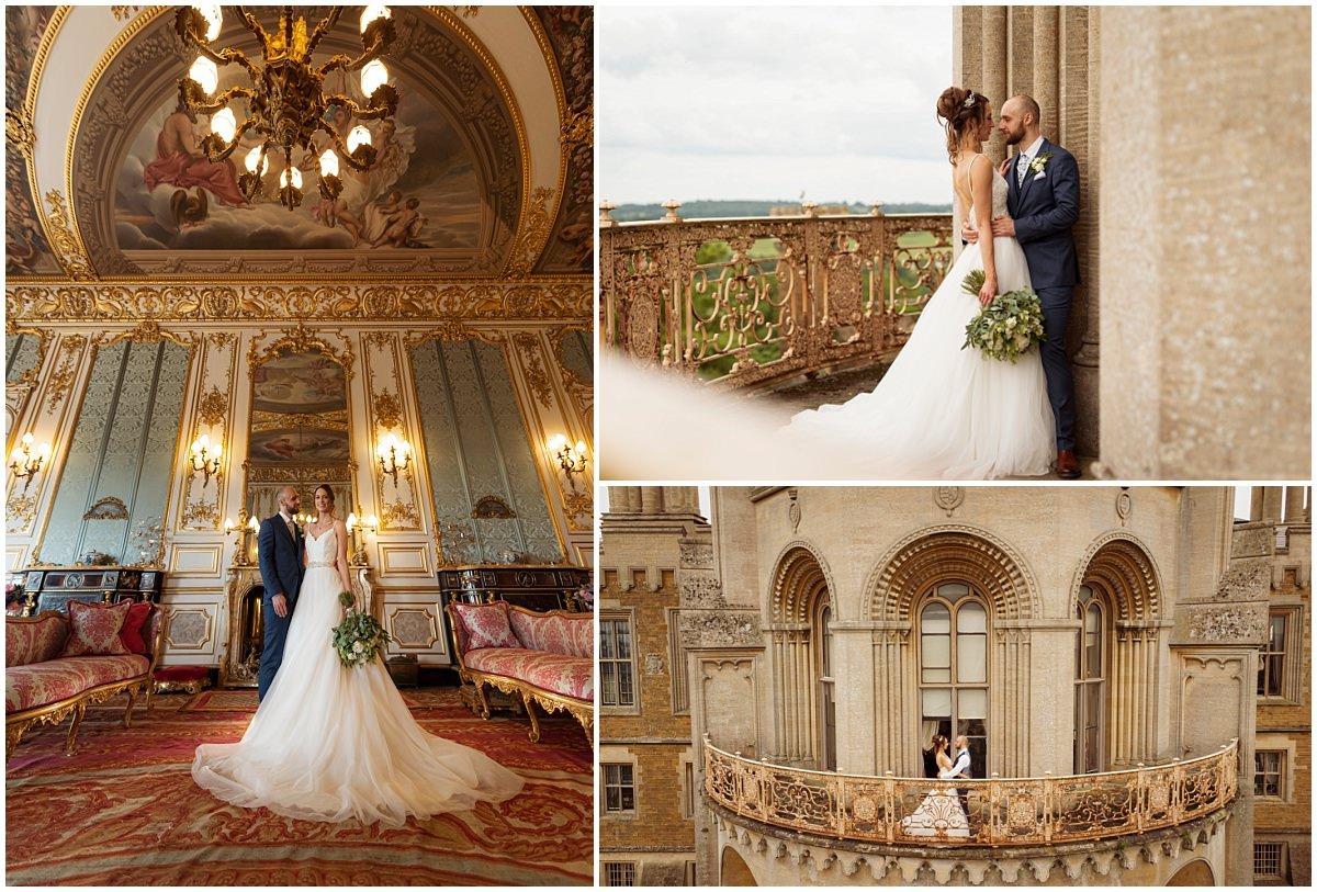 Belvoir Castle Wedding Photography Elizabethan suite