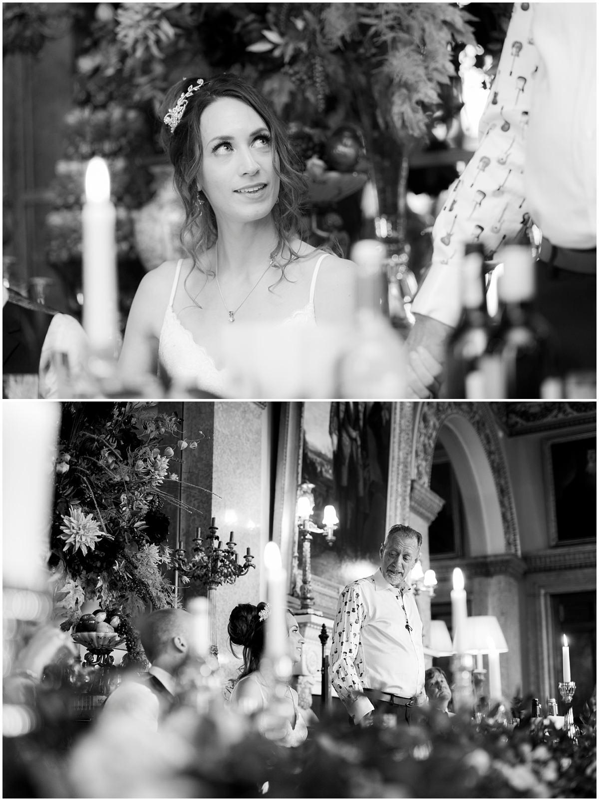 Belvoir Castle Wedding- speeches