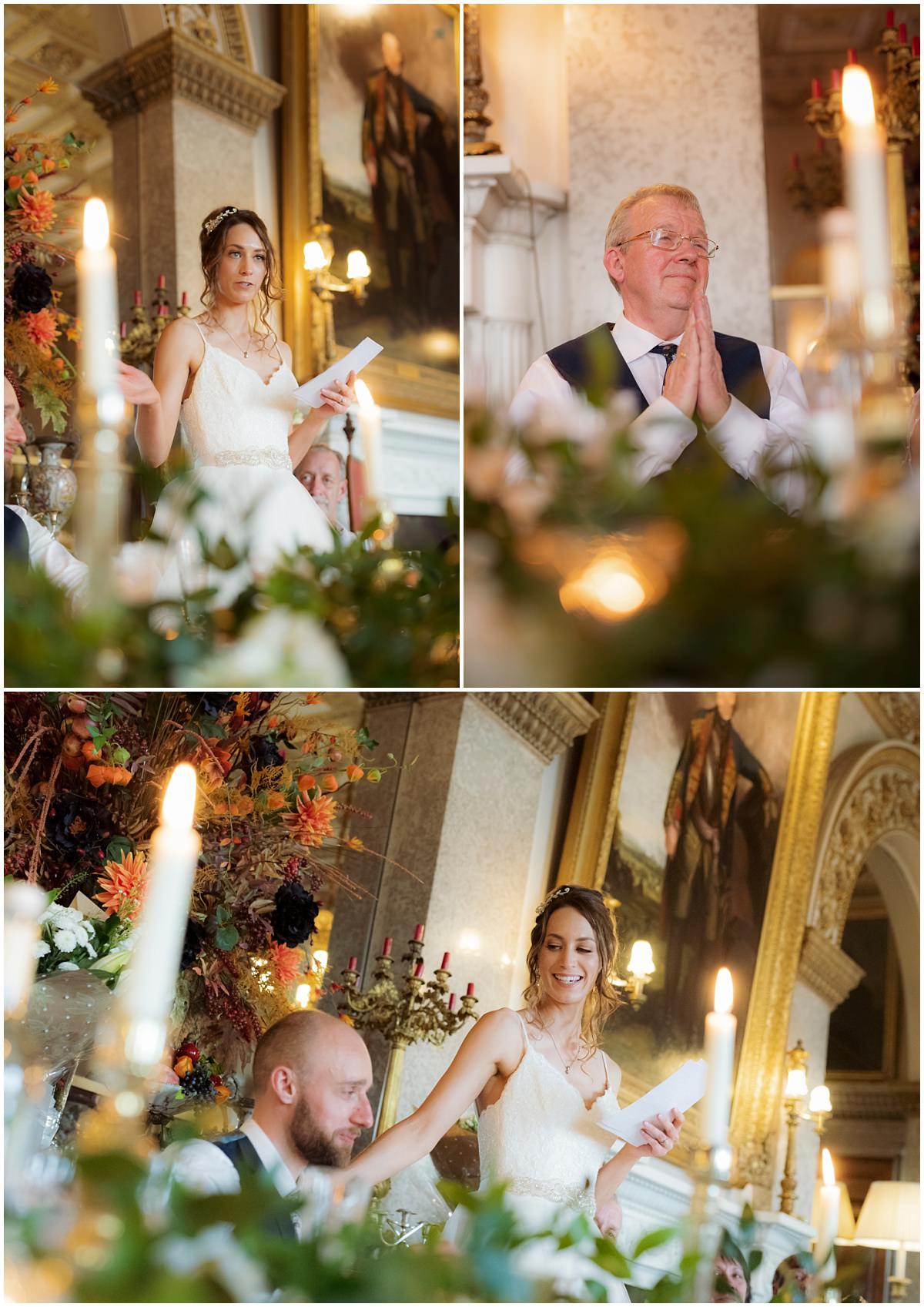 Belvoir Castle Wedding speeches