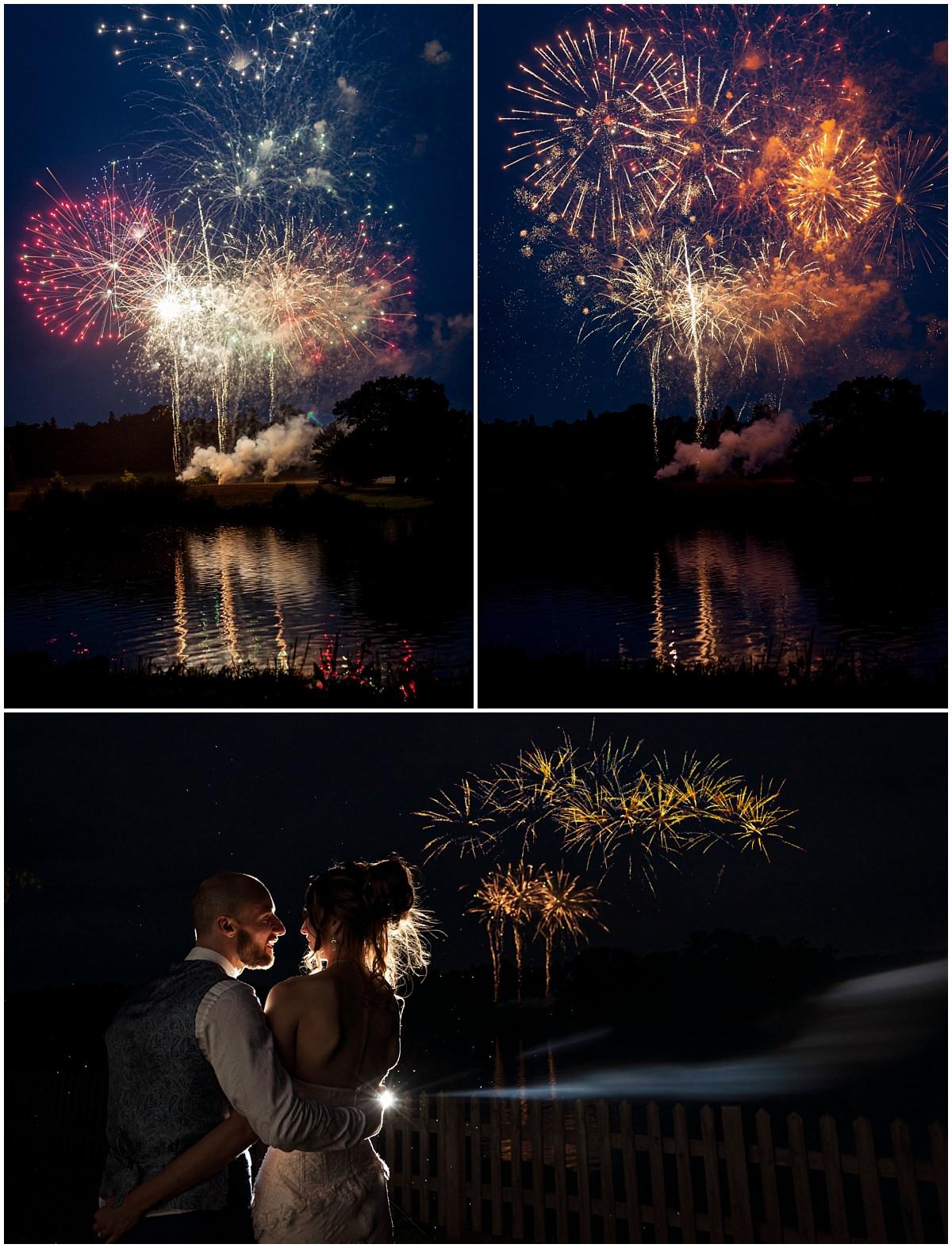 Belvoir Castle Wedding Photography Fireworks